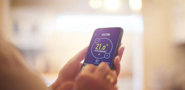 Infrarot-Paneele sorgen für angenehme Wärme.