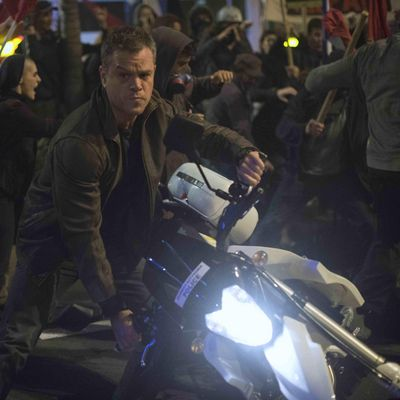 Matt Damon als Jason Bourne