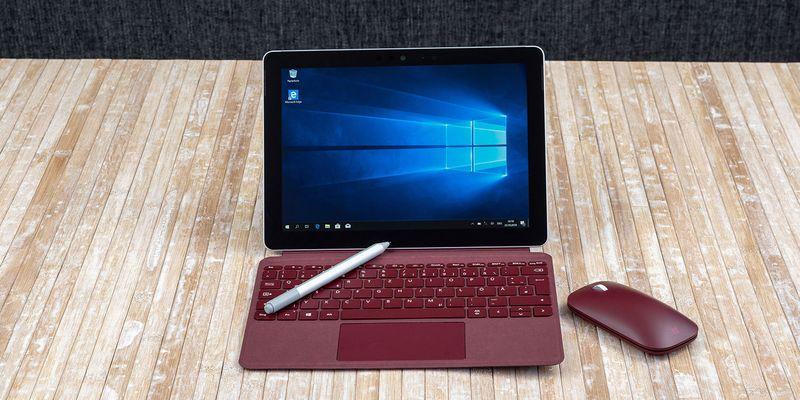 """Das kann das """"Surface Go""""."""