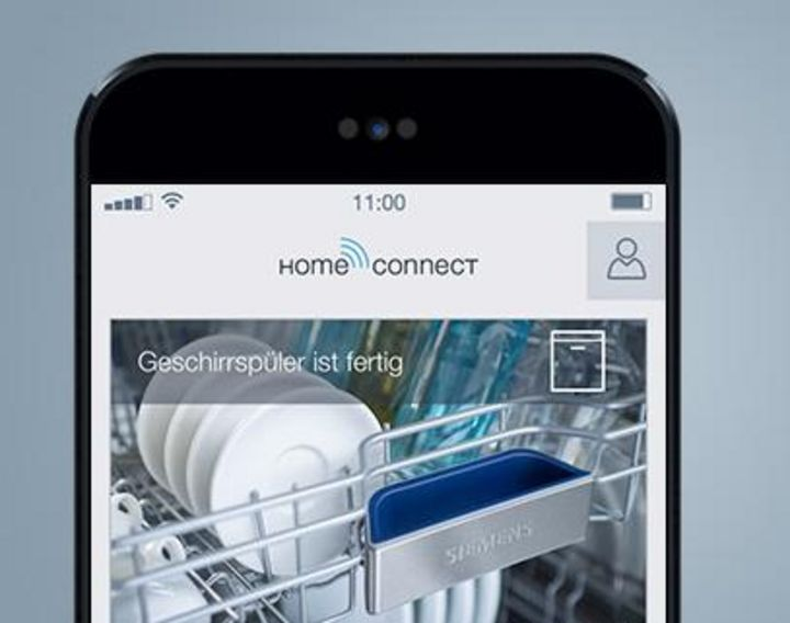 App verbindet: Home Connect