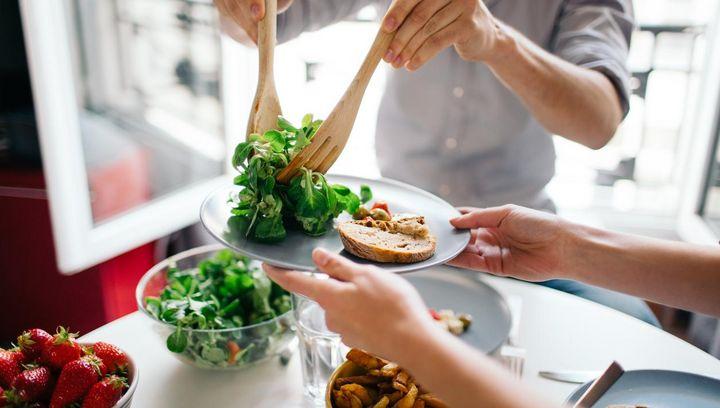 Vitamine und Mineralien mit Gemüse auffüllen.