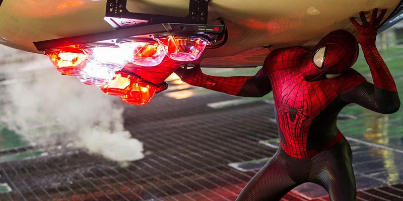 The Amazing Spiderman 2: Rise of Electro mit Andrew Garfield.
