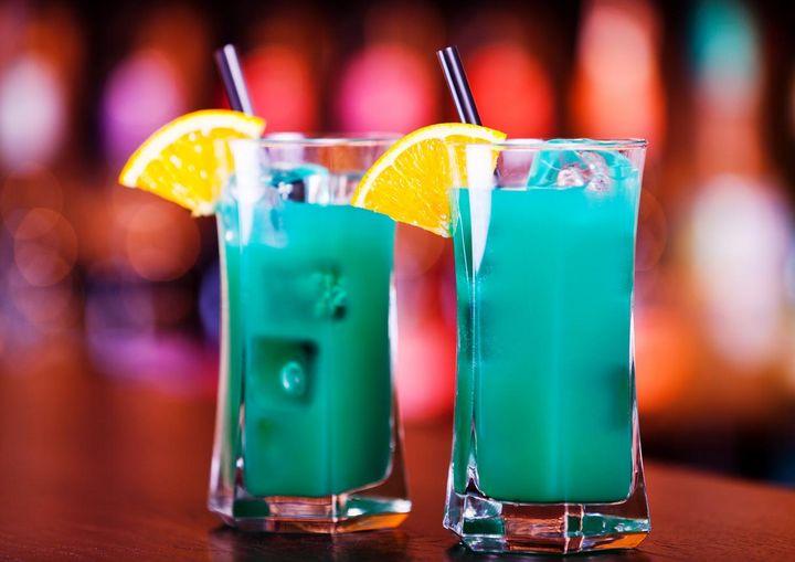 Mocktails werden mit viel Eis serviert.