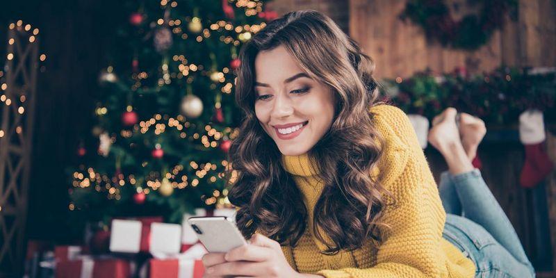 Smartphone als Weihnachtsgeschenk
