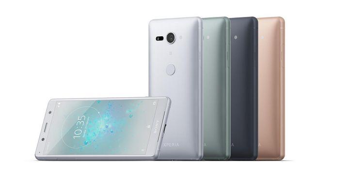 "Die ""Xperia XZ2 Compact""-Smartphones."