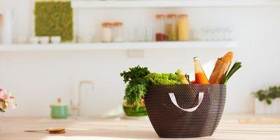 In der Zero Waste Küche feiert der Einkaufskorb sein Revival.