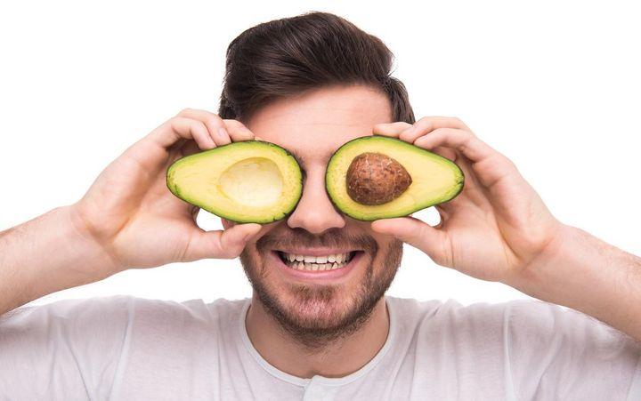 Avocados schmecken köstlich in Smoothies.