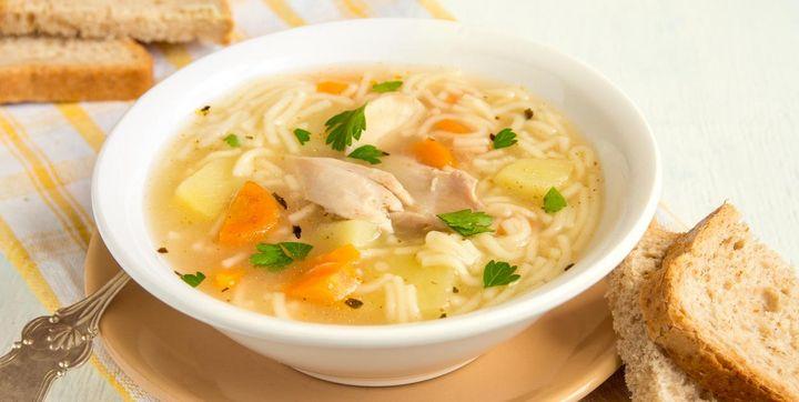 Rezept für gesunde Suppe