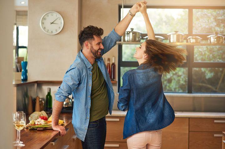Die Küche wird zum Dancefloor.