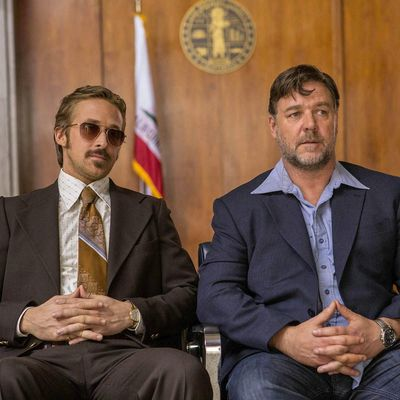 "Ryan Gosling und Russel Crowe in der Buddy-Action-Komödie ""The Nice Guys""."