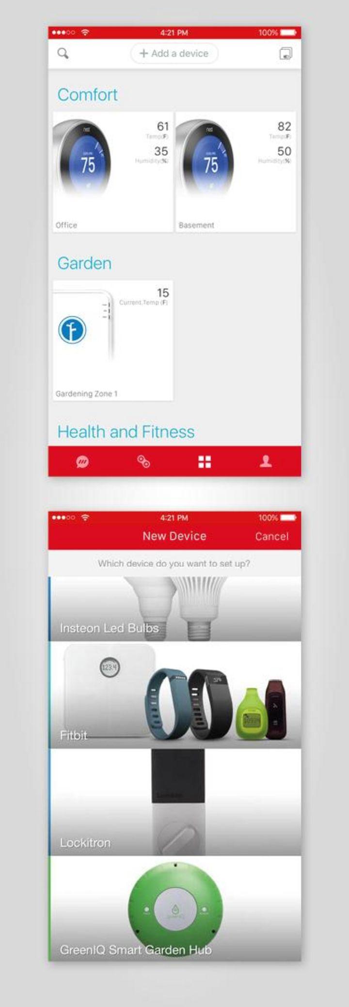 Eine einzige App fürs Smartphone