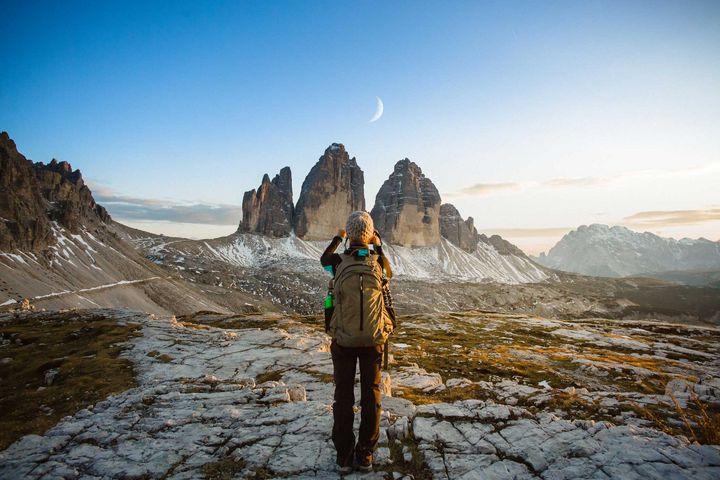 Mit einer Kamera können Sie die schönsten Momente Ihrer Wanderung festhalten.