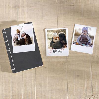 Retro Prints sind der Fototrend zum Muttertag 2019.