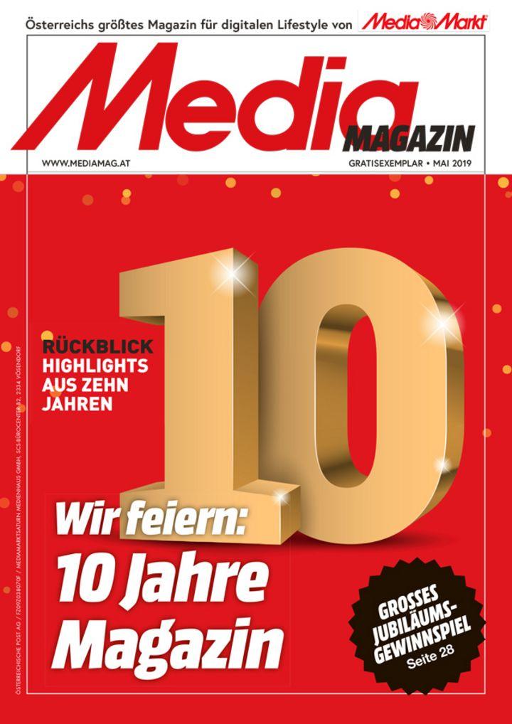 Das Mediamagazin im Mai 2019