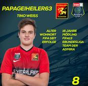 FC Flyeralarm Admira: Tino Weiss