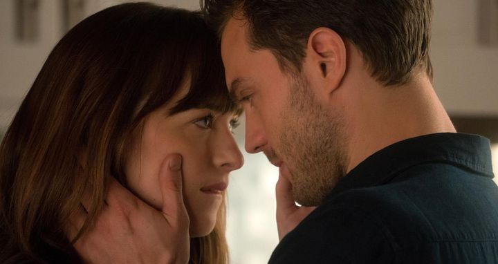 Christian Grey (Jamie Dornan) und Anastasia Steele (Dakota Johnson).