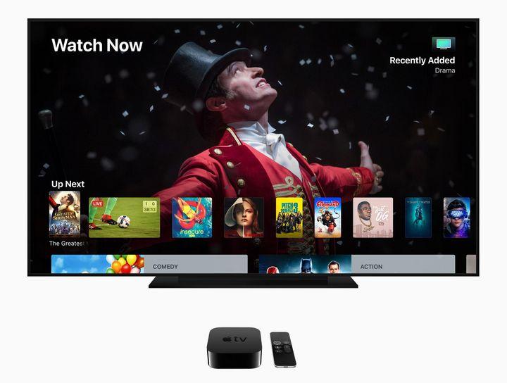 Das neue Betriebssystem für Apple TV ermöglicht neben Bildern in 4K-Auflösung auch Surround-Sound nach dem Dolby Atmos-Standard.