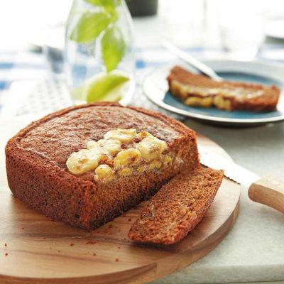 Bananabread wird im Philips Airfryer besonders saftig.