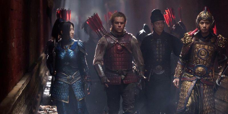 """Matt Damon stellt sich in """"The Great Wall"""" einem unersättlichen Monster."""