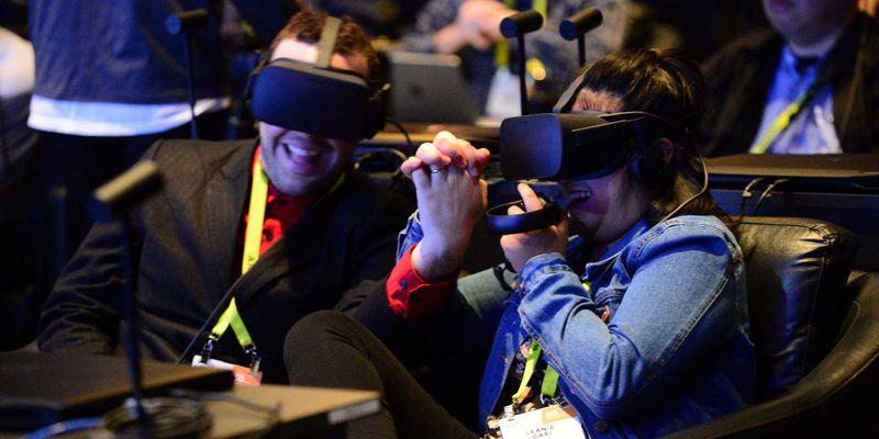 Virtuelle Realitäten reißen alle mit!