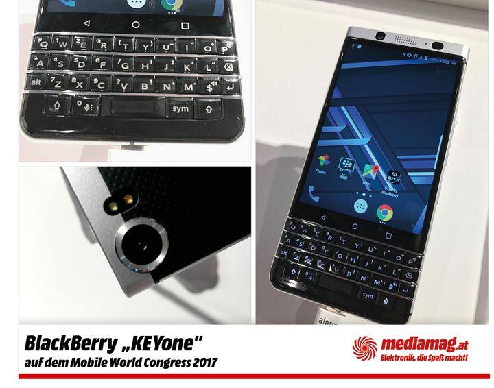 Das Android-Telefon punktet mit einer smarten Tastatur