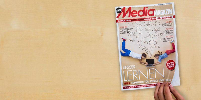 """""""Lernen 2.0"""" ist das große Thema in der September Ausgabe des Mediamagazins."""