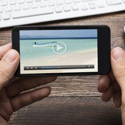 Video-Apps die Spaß machen.