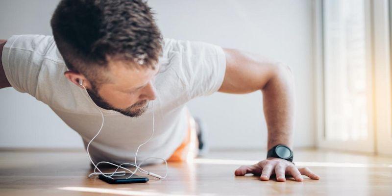 Gesund trainieren in den eigenen vier Wänden.