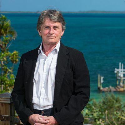 Mike Oldfield auf den Bahamas - seiner Wahlheimat.