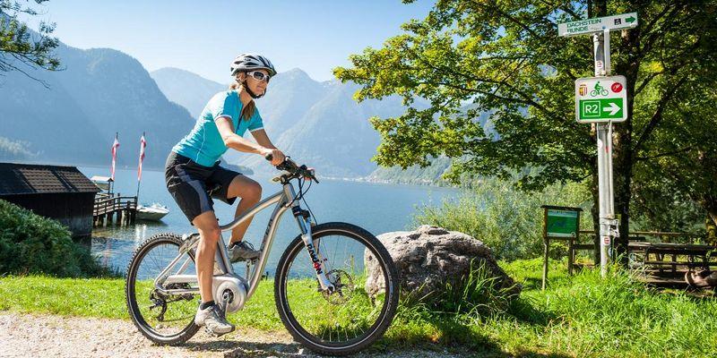 Das Fahrradnetz in Österreich wurde für E-Biker variantenreich ausgebaut.