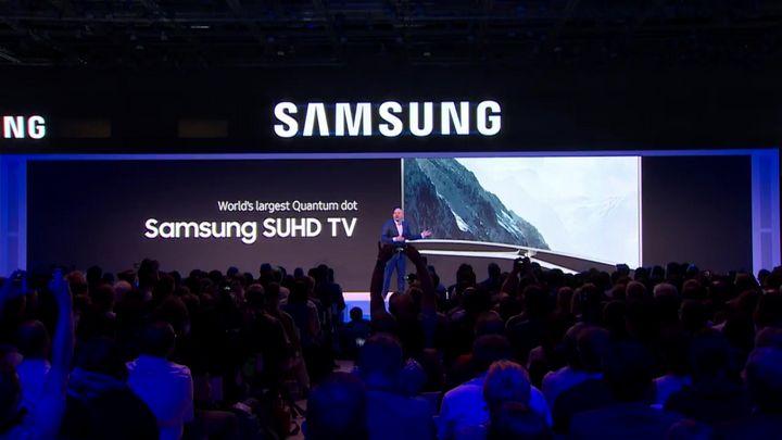 """""""Quantum-Dot""""-Fernsehen von Samsung"""