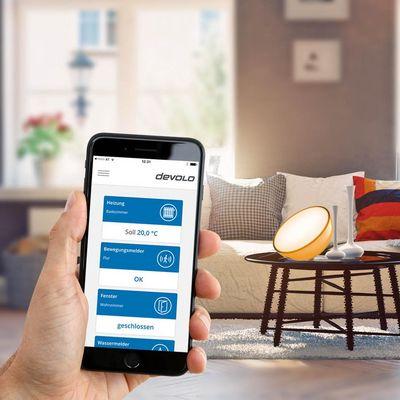 Devolo Home Control funktioniert ab sofort auch mit Philips Hue.