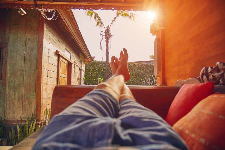 Entspannung pur im Garten.