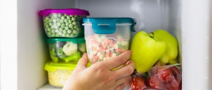 Essensreste separat aufbewahren.