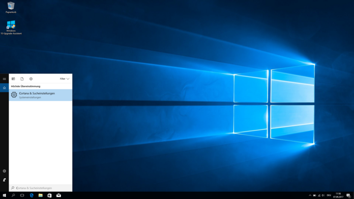 So hilft Cortana bei der effizienten Suche unter Windows 10.