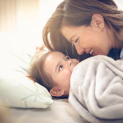 Einschlaftipps für Kinder.