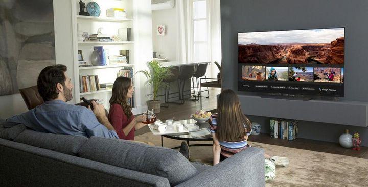 """Besonders nutzerfreundliche Bedienung: die neuen """"ThinQ""""-TVs von LG."""