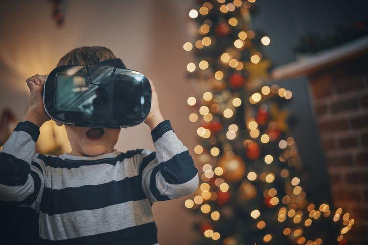 VR-Brillen als Geschenk für Gamer.