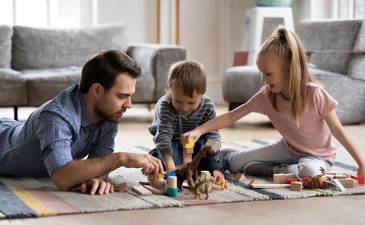 Ein hybrides Arbeitsmodell schafft mehr Zeit für die Familie.