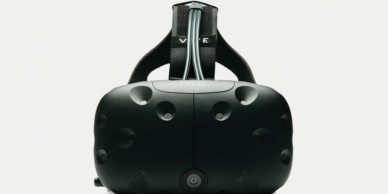 "Das VR-Headset ""HTC Vive"""