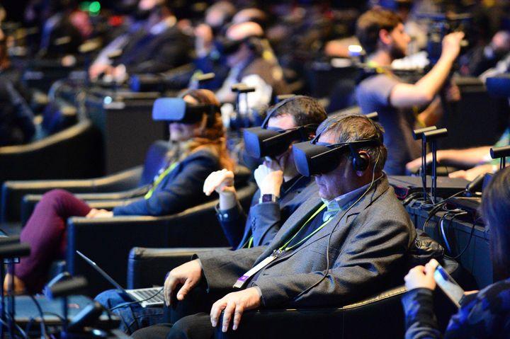 Das Publikum der Intel PRessekonferenz
