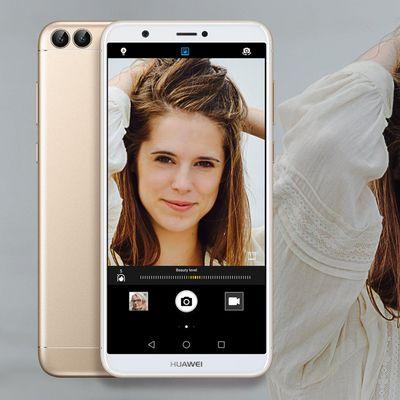 """Das Huawei """"P smart"""" in der Vorschau."""