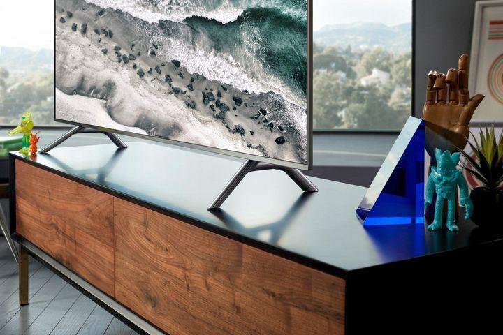 """Samsung setzt bei seinen Smart TVs auf das hauseigene Betriebssystem """"Tizen""""."""