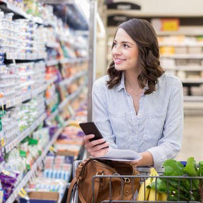 Mit der richtigen Einkaufslisten-App ist der Einkauf schnell erledigt.