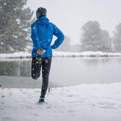 Richtiges Laufen bei Kälte.