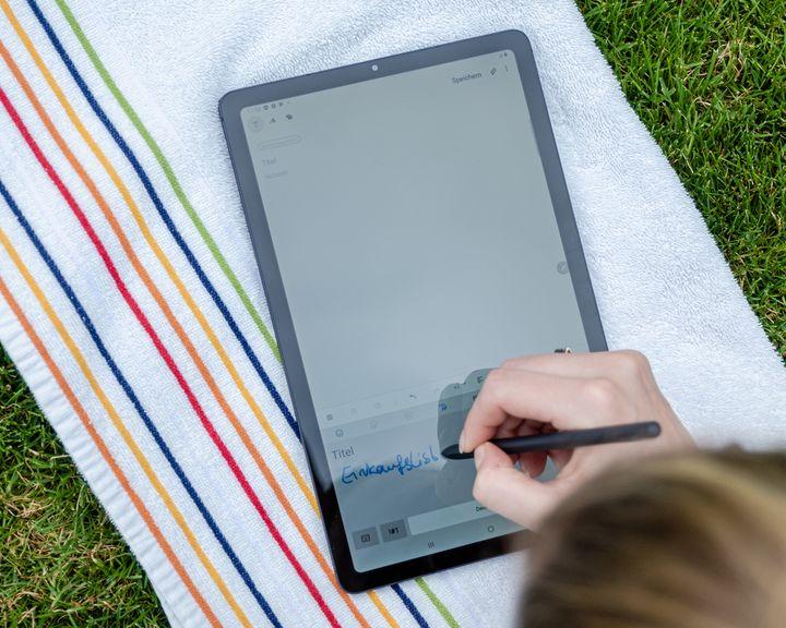 Die Software erkennt Handschriften