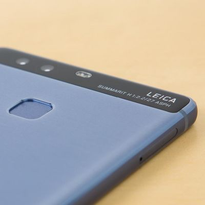 Das Huawei P9 in Blau