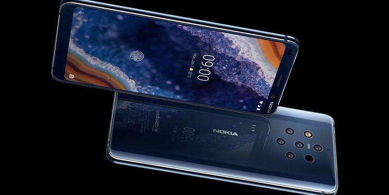 """Nokia stellt in Barcelona das """"Nokia 9 PureView"""" vor."""