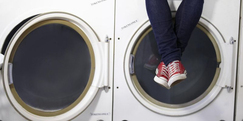 Sneakers in die Waschmaschine?