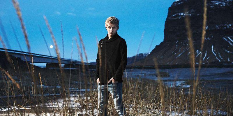 Island trifft Österreich mit Thorsteinn Einarsson.